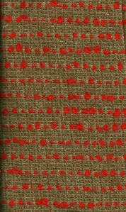 This fabric is very soft, perhaps due to a certain percentage of mohair wool in its composition.