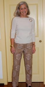 Snowflake pants