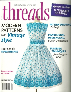 The newsest issue of Threads magazine