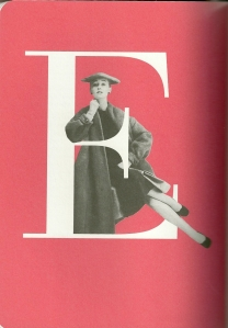 """Here is the """"section""""page for E from Dior's Fashion Dictionary"""