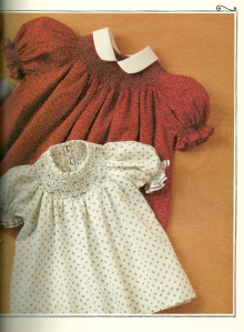 Two little bishop dresses.