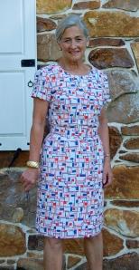 linen tab dress