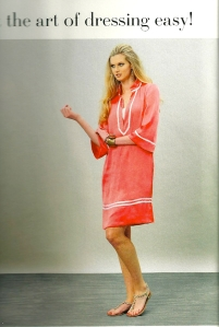 Tunic sundress - magazine photo