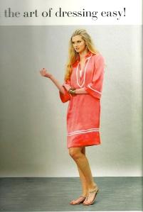 Tunic sundress - magazine photo