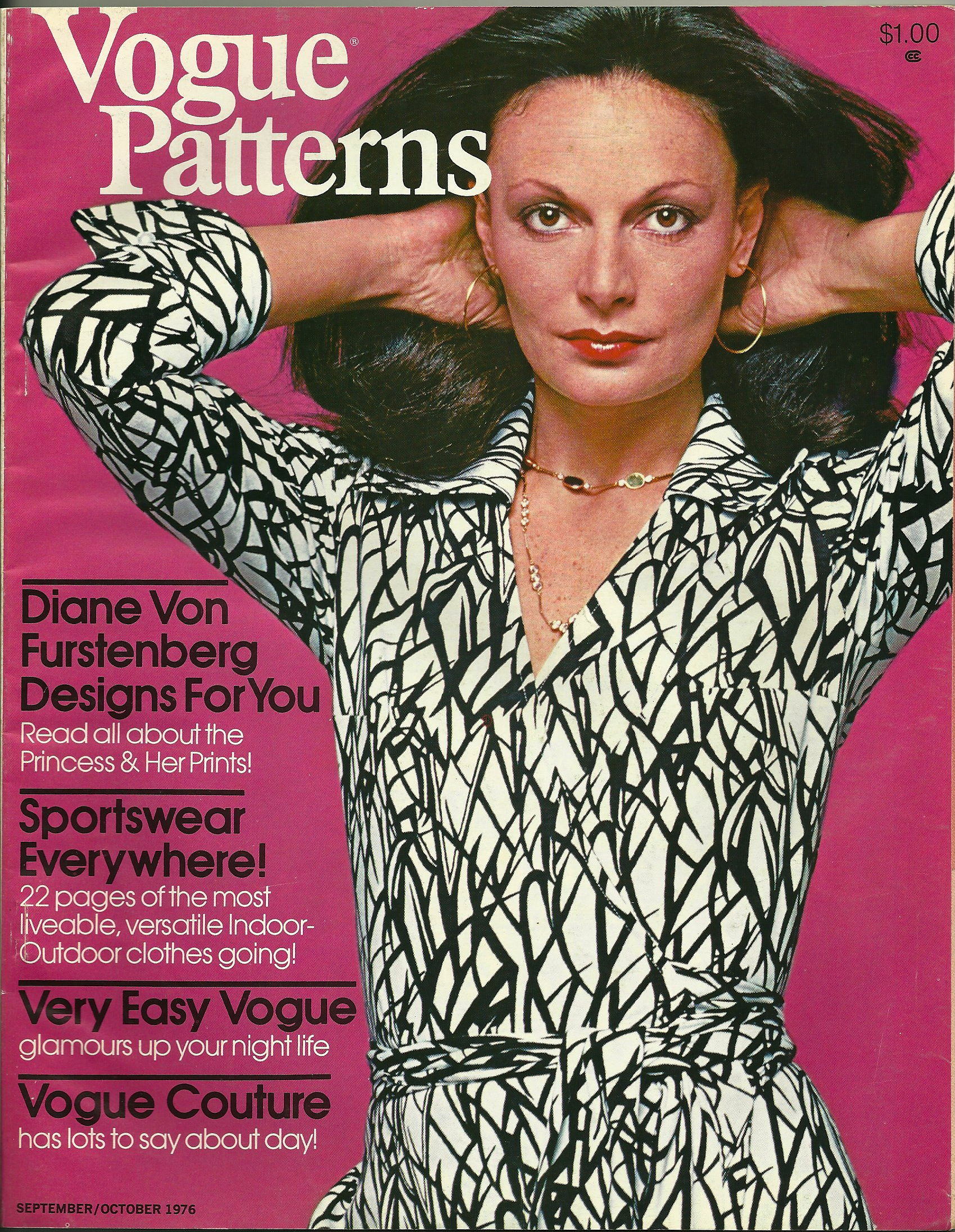 Dvf Wrap Dress Pattern Her dress dynasty had begun in