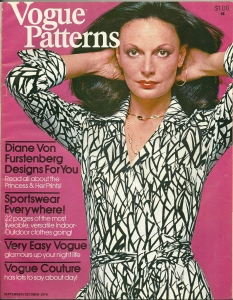 Diane von Furstenberg Vogue patterns | fiftydresses