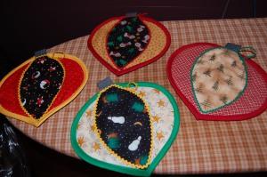 Color wheel potholders