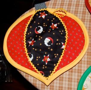 color wheel potholder