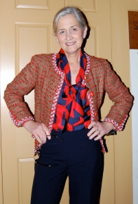 Whew!  Blouse and jacket turned out as I had hoped!