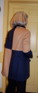 A back view.