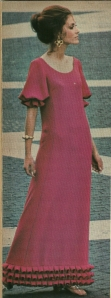 This lovely Pucci gown was shown in the April/May 1970 issue of VPB Magazine.