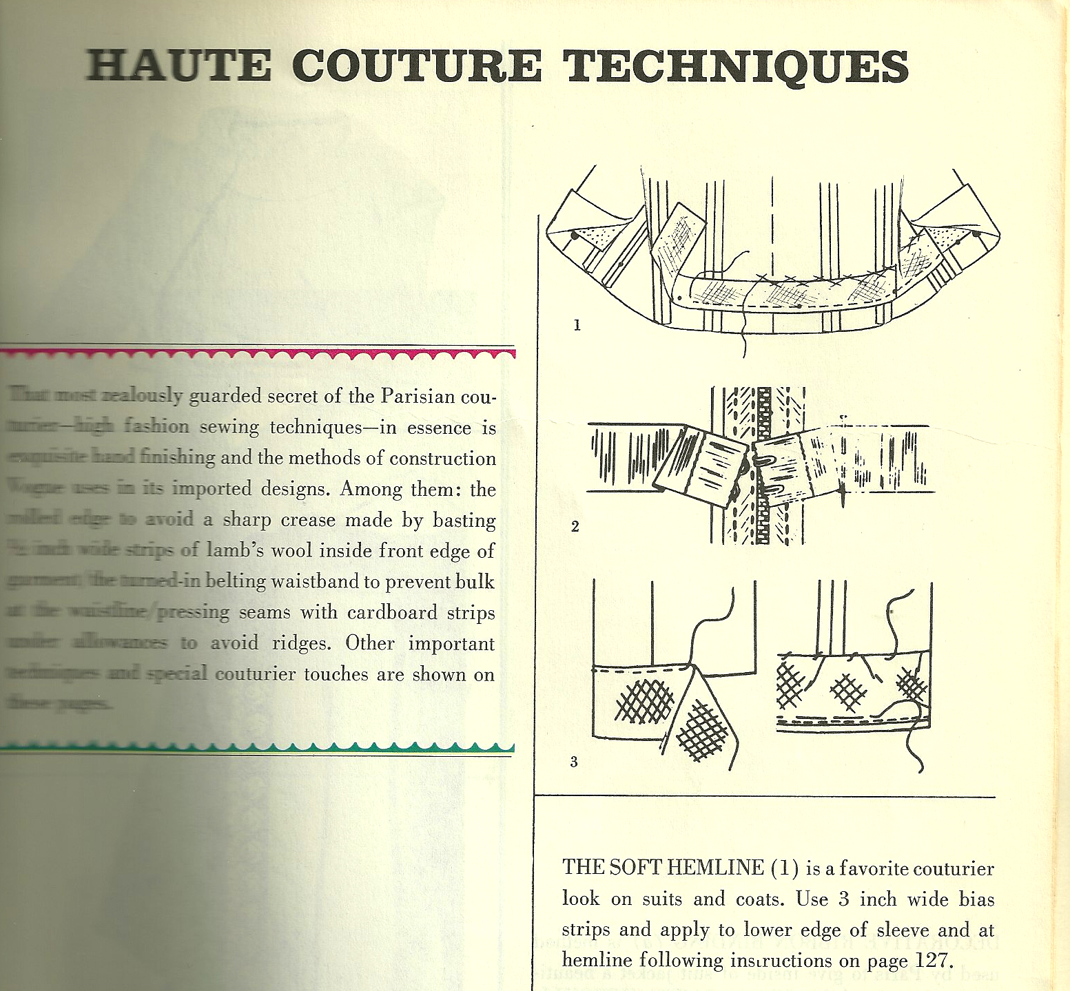 Coats fiftydresses for Haute couture seamstress