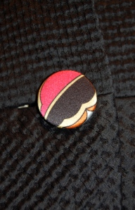 This is the button I chose for the top of the jacket.