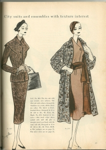 Even fashion illustration included all the elements of a polished look.  (From the same VPB magazine as above.)
