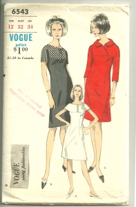 """Here is one """"Young Fashionable"""" pattern, to illustrate the type of style designed for the younger than thirty age group."""