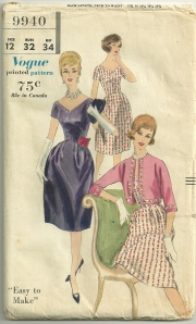 The neckline dips down to a slightly curved V, with a center seam.