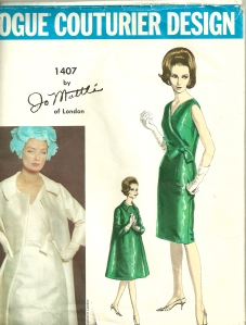 And here is the Mattli pattern showing the coat...