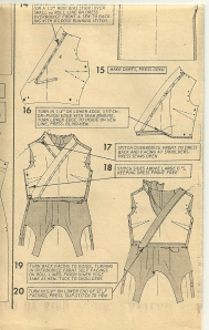 To our sewing selves - pattern diagram