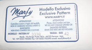 Marfy dress