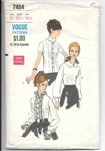 Blouse pattern - PP collar