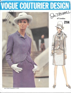 Dress Suit - front of pattern envelope