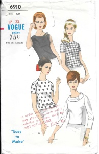 Dress Suit 2 - blouse pattern-2