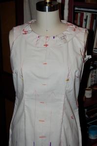 Dress for Mattli jacket
