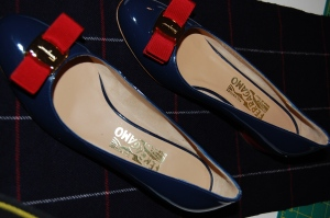 I wear a lot of red and blue, so I expect these shoes to serve me well!