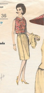 A collared overblouse.