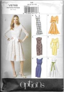 Blue taffeta:silk dress - bodice pattern