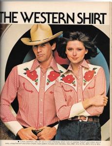 Western style - shirts, no 2