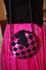 Black and pink fancy dress
