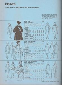 Dressmaker coats - 7 coats 1