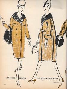 Dressmaker coats - rectangle #1