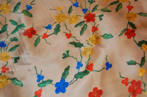 I just could not resist this silk charmeuse on Mendel Goldberg's website. I immediately decided I needed it for a new dress to wear to fancy parties. However, it will have to wait patiently until I can get to it.