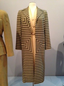 "This was called a Day Ensemble. It bears the table ""Irene for Nan Duskin."" This was Irene Lentz Gibbons, 1952-53, USA."