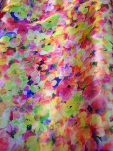 A watercolor print, reminiscent of Matisse.
