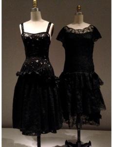 Met - Black Balenciaga dress copy