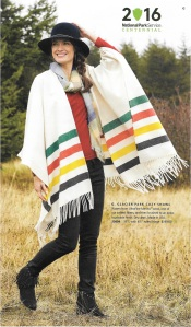 . . . or a simple fringed shawl really makes a statement.