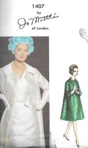 Taffeta coat - Mattli pattern