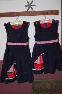 Sailboat dresses